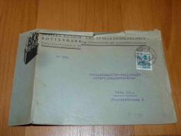 Bezirks Konsum Und Spargenossenschaft Rottenmann Bischofshofen Bruck Wien Austria Österreich Umschlag - 1918-1945 1ra República