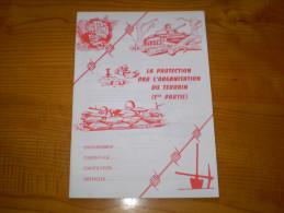 Militaria :armée De Terre : La Protection Par L'Organisation Du Terrain : OT . Photos Et Croquis N&b - Documents