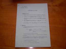 Militaria :armée De Terre : école D'application De L'infanterie : Les Déplacements Par Voie Ferrée - Documents