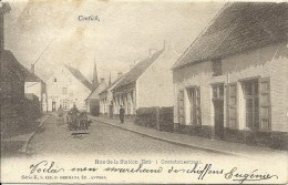 CONTICH - Rue de la Station Est - Ooststatiestraat - S�rie K N� 112 G. Hermans