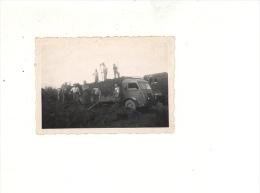 Photographie Originale  : Camion RENAULT Galion De La Coopérative Des Jardiniers De Louhans Saône Et Loire 71 - Automobili