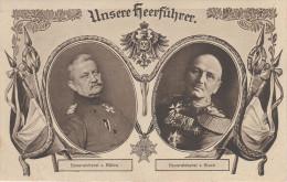 Litho AK Militär Unsere Heerführer Armee Generaloberst Von Bülow & Von Kluck Münster Berlin Weltkrieg - Personaggi