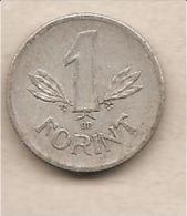 Unghria - Moneta Circolata Da 1 Fiorino - 1968 - Hungría