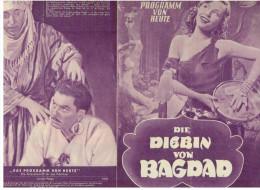 Das Programm Von Heute Nr.136 - Die Diebin Von Bagdad - Magazines