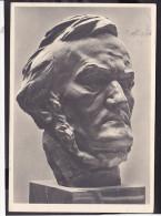 """Arno Breker """" Richard Wagner"""" Feldpost 1943 Stempel Mühlhausen - Weltkrieg 1939-45"""