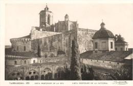 POSTAL    22.-  TARRAGONA   - VISTA POSTERIOR DE LA SEU -  VISTA POSTERIOR DE LA CATEDRAL - Tarragona