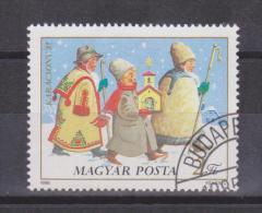 Hungary Mi 3795 Christmas - Youth Caroling - Traditional Dress - 1985 - Hongarije