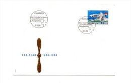 PRO AEREO AUSGABETAG BERN 8.3.88 - Pro Juventute