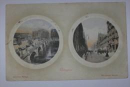 m926 *     postale ecosse glasgow 1909  ( d�but d�ouverture de la carte )