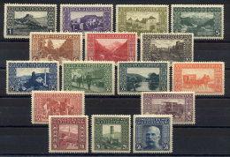 Austrian Fieldpost Bosnia 1906 Long Set Mint