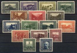 Austrian Fieldpost Bosnia 1910 Long Set Mint