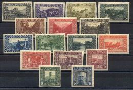 Austrian Fieldpost Bosnia 1906 Long Set Mint Imperforated