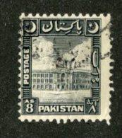 A-489  Pakistan 1950  Scott #52   Offers Welcome!