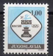 Yugoslavia,For Chess Olympiad-Novi Sad ´90. 1990.,MNH - Neufs
