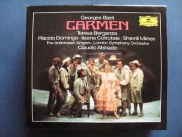 CARMEN  - Teresa Berganza - Placido Domingo - London Symphony Orchestra - Claudio Abbado - Coffret De 3 CD + Livret - Opéra & Opérette