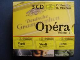 OPERA - Nabbucco Et La Traviata De Verdi - Carmen De Bizet  - Coffret De 3 CD - Oper & Operette