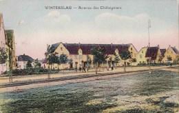 WINTERSLAG - Avenue Des Châtaigniers - Carte Colorée - Genk