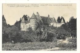 Cp, 37, Fondettes - Chatigny, Le Château - Fondettes