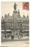 Cp, 59, Lille, La Colonne De La Déesse, Voyagée 1905 - Lille