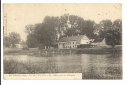 Cp, 60, Toutevoye, Le Rendez-vous Des Pêcheurs, Voyagée 1912 - Autres Communes