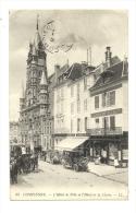 Cp, 60, Compiègne, L'Hôtel De Ville Et L'Hôtel De La Cloche, Voyagée - Compiegne