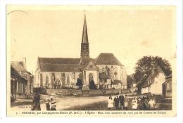 Cp, 62, Douriez, L'Eglise, Voyagée 1949 ? - Autres Communes