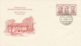 Czechoslovakia / First Day Cover (1953/09) Praha 1 (9i): Museum..; Josef Hybes, Founder Of The Esperanto Club, 1901 Brno - Esperanto