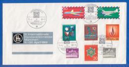 Deutschland; Brief; Internationale Handwerksmesse München 1969 - Weltausstellung