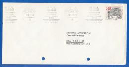 Deutschland; Brief; Internationale Ausstellung Sanitär, Heizung, Klima Frankfurt Am Main 1971 - Weltausstellung
