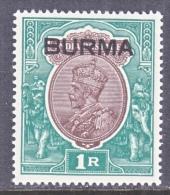 BRITISH  B URMA  13  * - Burma (...-1947)