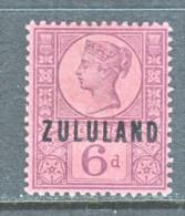 BRITISH  ZULULAND  8  * - South Africa (...-1961)