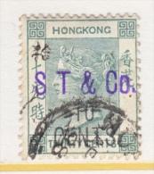 HONG KONG  69  (o)  FIRM  CHOP   SHEWAN  TOMES  & CO. - Hong Kong (...-1997)