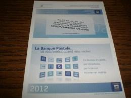 Petit calendrier de poche 2012 LA POSTE