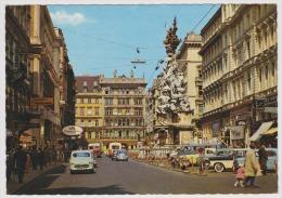 Wien-vienna-graben Mit Pestsaule-unused,perfect Shape - Château De Schönbrunn