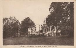 VILLIERS CHARLEMAGNE -53- SANATORIUM DE CLAVIERES - France