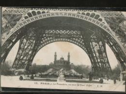 Cpa  De 1926 N°15.  PARIS . Le Trocadéro, Vu Sous La Tour Eiffel - Sin Clasificación