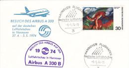 Hannover Flughafen 1974 - First Flight 1er Vol Erstflug - Airbus A 300 B - - [7] République Fédérale