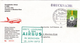 Munchen 87 Flughafen 1973 - First Flight 1er Vol Erstflug - Airbus A 300 B - - [7] République Fédérale