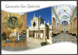 Santuario Di San Gabriele (TE) - Cartolina Non Viaggiata Come Da Scansione - Eglises Et Couvents
