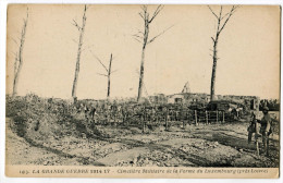 CPA La Ferme Du Luxembourg ( Loivre )   ( Guerre 14 - 18 ) - Guerre 1914-18