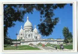 Paris - Le Sacré-Coeur De Montmartre - 1991 éd. LYNA - Utilisée Pour Concours - 2 Scans - Sacré Coeur