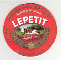 RARE / LEPETIT Moulé à La Louche Lait THERMISE - STE Marie Aux Anglais 14270 / Cartonnée / B.E. - Fromage