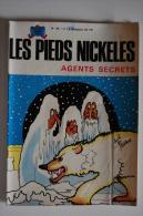 BD LES PIEDS NICKELES AGENTS SECRETS - 54 - TBE - Rééd. 1971 - Pieds Nickelés, Les