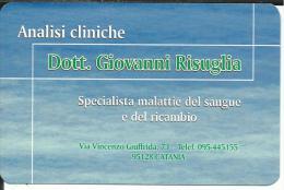 CAL615 - CALENDARIETTO 2007 - DOTT. GIOVANNI RISUGLIA - CATANIA