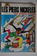 BD LES PIEDS NICKELES AUX SPORTS D´HIVER - 64 - TBE - Rééd. 1971 - Pieds Nickelés, Les