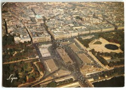 Paris - Place De La Concorde - Tuileries - Rue Royale - La Madeleine - 1987 éd. LYNA - Utilisée Pour Concours - 2 Scans - Places, Squares