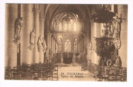 24935 ( 2 Scans ) Kortrijk - Courtrai Eglise St Martin - Kortrijk