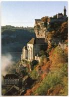 46 Rocamadour 1997 - écrite - Timbre ôté - 2 Scans - Autun