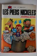 BD LES PIEDS NICKELES JOURNALISTES - 49 - BE - Rééd. 1971 - Pieds Nickelés, Les
