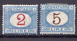 ITALIA SEGNATASSE 1875 MH - 1861-78 Victor Emmanuel II